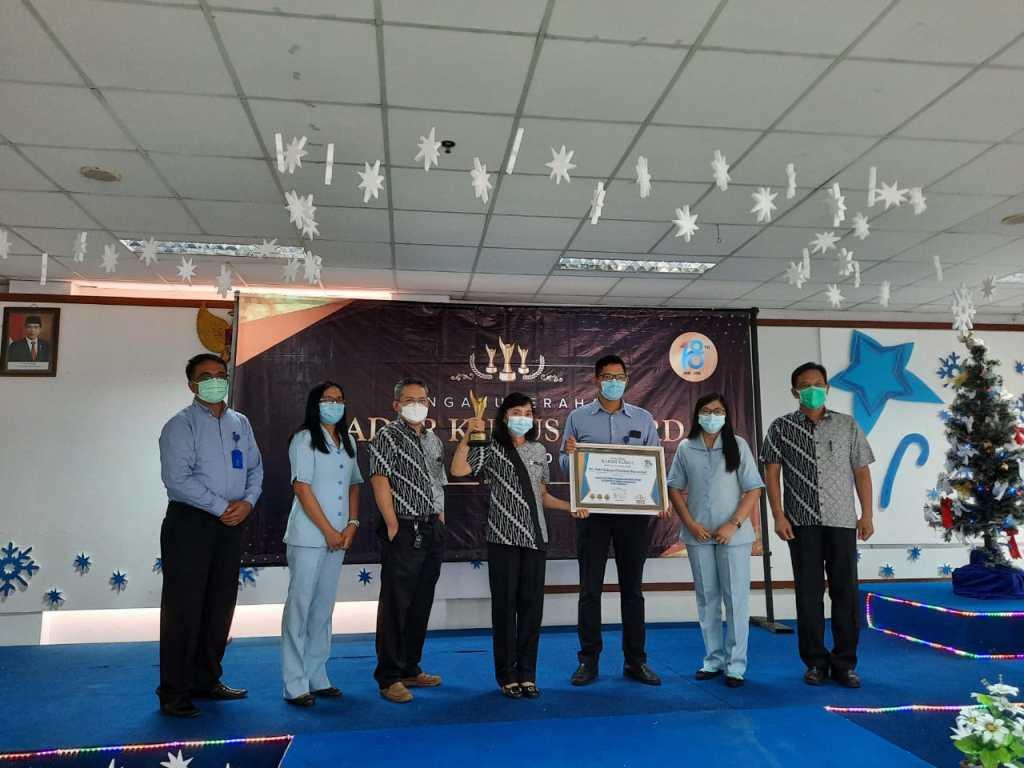 Penyerahan Penghargaan Radar Kudus Award tahun 2020 Kepada RS Panti Rahayu
